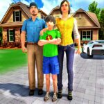Happy Family Life Dad Mom – Virtual Housewife Care APK MOD (Unlimited Money) 1.1