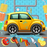 Kids Car Wash Service Auto Workshop Garage   APK MOD (Unlimited Money) 2.8
