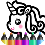 Kids Drawing Games for Girls 🎀 Apps for Toddlers! APK MOD (Unlimited Money)