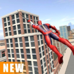 Miami Rope Hero Spider Open World City Gangster APK MOD (Unlimited Money) 1.0.25