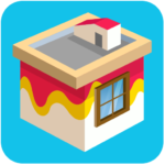 Paint wall | Exciting House Painting Puzzle Game APK MOD (Unlimited Money) 8.53