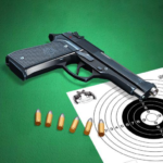 Pistol shooting at the target.  Weapon simulator APK MOD (Unlimited Money) 4.6