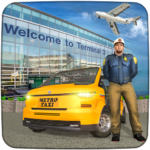 Real Taxi Airport City Driving-New car games 2020 APK MOD (Unlimited Money) 1.8