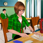 School Girl Simulator: High School Life Games   APK MOD (Unlimited Money) 1.10