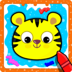 Animal Sounds for babies & Coloring book for kids APK MOD (Unlimited Money) 1.20