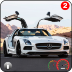 Benz SLS AMG: Extreme City Stunts Drive & Drifts APK MOD (Unlimited Money) 1.4