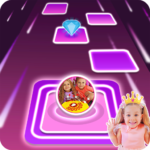 Diana and Roma Tiles hop for kids APK MOD (Unlimited Money) 3.0