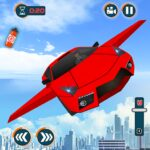 Flying Car Shooting Games – Drive Modern Cars Game APK MOD (Unlimited Money) 1.7