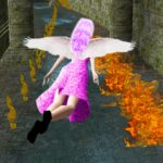 Flying Girl Runner 4 APK MOD (Unlimited Money) 1.3