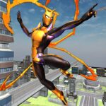 Flying Spider Hero Two -The Super Spider Hero 2020 APK MOD (Unlimited Money) 0.2.7