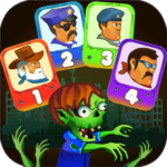 Four guys & Zombies (four-player game) APK MOD (Unlimited Money) 1.0.2