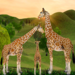 Giraffe Family Life Jungle Simulator APK MOD (Unlimited Money) 4.6