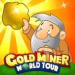 Gold Miner World Tour: Gold Rush Puzzle RPG Game APK MOD (Unlimited Money) 1.7.11