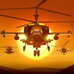 Gunship Force Free Helicopter Games Attack 3D  APK MOD (Unlimited Money) 3.66.9