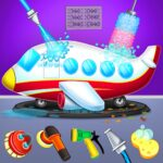 Kids Plane Wash Garage: Kids Plane Games APK MOD (Unlimited Money) 2.2
