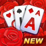 Solitaire TriPeaks Rose Garden – free card game APK MOD (Unlimited Money) 1.0.9