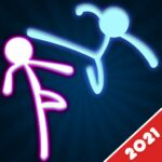 Stickman Fighting: 2 Player Funny Physics Games APK MOD (Unlimited Money) 1.8