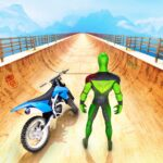 Superhero Bike Stunt GT Racing – Mega Ramp Games APK MOD (Unlimited Money) 1.15