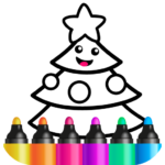 Toddler Drawing Academy🎓 Coloring Games for Kids APK MOD (Unlimited Money)