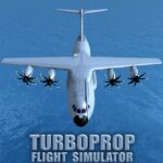 Turboprop Flight Simulator 3D  APK MOD (Unlimited Money) 1.26