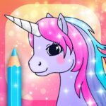 Unicorn Coloring Pages with Animation Effects APK MOD (Unlimited Money) 3.3