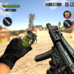 Battleground Fire Cover Strike: Free Shooting Game APK MOD (Unlimited Money) 2.1.4