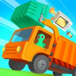 Dinosaur Garbage Truck – Games for kids APK MOD (Unlimited Money) 1.0.4
