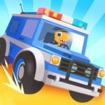 Dinosaur Police Car – Police Chase Games for Kids APK MOD (Unlimited Money) 1.1.3