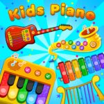 Kids Piano: Animal Sounds & musical Instruments APK MOD (Unlimited Money) 1.0.3