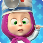 Masha and the Bear: Free Animal Games for Kids   APK MOD (Unlimited Money) 4.0.6