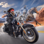 Outlaw Riders War of Bikers   APK MOD (Unlimited Money) 0.3.0
