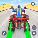 Quad Bike Traffic Shooting Games 2020: Bike Games APK MOD (Unlimited Money) 3.1