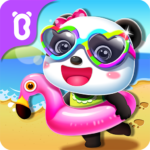 Baby Panda's Summer: Vacation APK MOD (Unlimited Money) 8.53.00.00