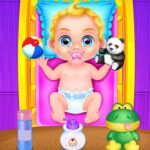 Babysitter Crazy Baby Daycare – Fun Games for Kids   APK MOD (Unlimited Money) 1.0.10