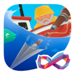 Harpoon FRVR Spear Fishing Gone Wild   APK MOD (Unlimited Money) 1.3.15