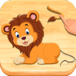 Jigsaw Puzzles For Kids – Animals Shapes APK MOD (Unlimited Money) 1.6