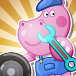 Kids Car Wash Garage for Boys   APK MOD (Unlimited Money) 1.2.3