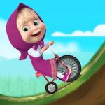 Masha and the Bear: Climb Racing and Car Games APK MOD (Unlimited Money) 1.2.7