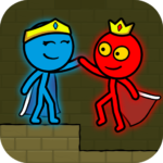 Red and Blue Stickman : Animation Parkour  APK MOD (Unlimited Money) 1.2.2com.stundpage.nimi.fruit.blender