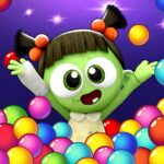 SPOOKIZ PANG: Bubble Shooting APK MOD (Unlimited Money) Varies with device