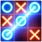 Tic Tac Toe Glow   APK MOD (Unlimited Money) 8.4