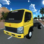 Truck Oleng Canter Simulator (Indonesia)   APK MOD (Unlimited Money) 1.3
