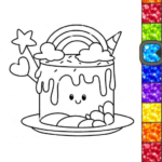 Unicorn Glitter Coloring Book: Coloring Unicorn🦄 APK MOD (Unlimited Money) 4.0.3