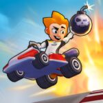 Boom Karts Multiplayer Kart Racing  APK MOD (Unlimited Money) 1.3.1