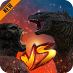 Godzilla & Kong 2021: Angry Monster Fighting Games   APK MOD (Unlimited Money) 4