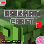 Apikman Craft 2 : Multicraft World craft buliding APK MOD (Unlimited Money)