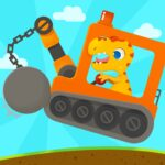 Dinosaur Digger 3 – Truck Simulator Games for kids APK MOD (Unlimited Money)