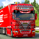 Euro Truck Driving Simulator 3D – Free Game APK MOD (Unlimited Money)