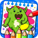 Fantasy – Coloring Book & Games for Kids APK MOD (Unlimited Money)