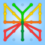 GeoBoard relaxing puzzle game drawing lines shapes APK MOD (Unlimited Money)